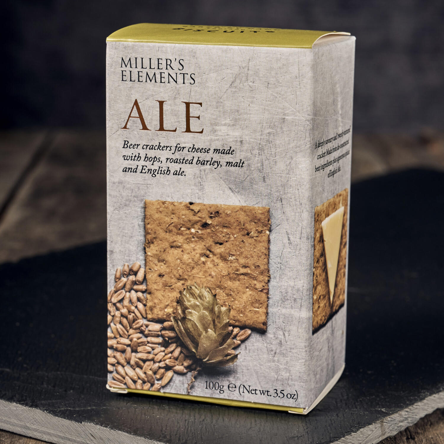 Millers Elements Ale Biscuits