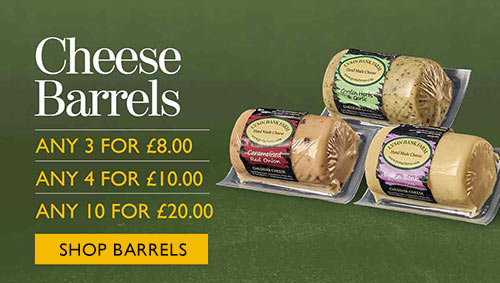 Mouse House Cheese Barrels